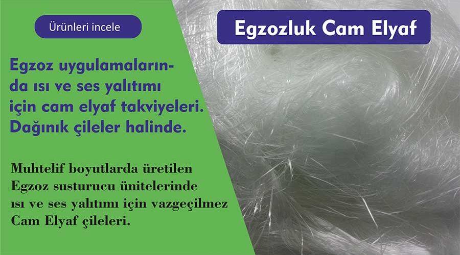 Egzozluk Cam Elyaf